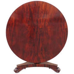19th C Barbadian Mahogany Breakfast Table