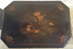 English Regency Chinoiserie Ladies Work Table image 4
