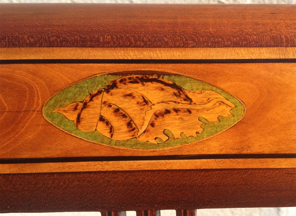 Dining Room Chair With Conch Shell Inlay