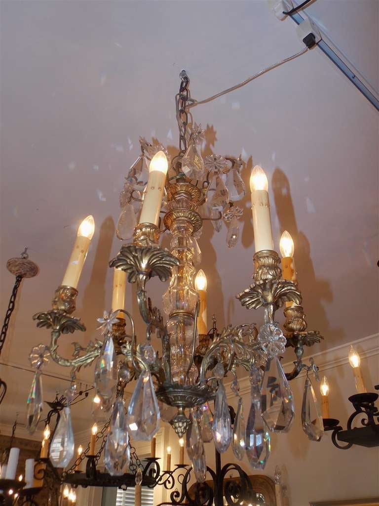 French gilt bronze and crystal chandelier circa 1820 at 1stdibs - Circa lighting chandeliers ...