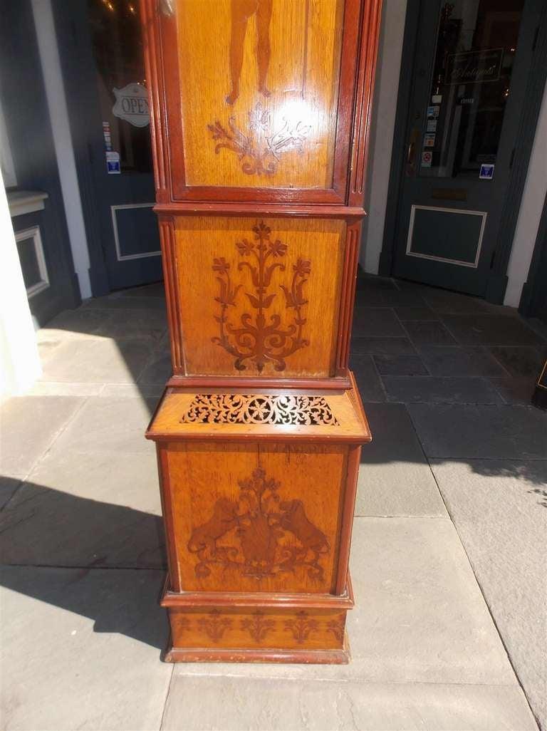 English Mahogany Tall Case Clock. Circa 1870 For Sale 5