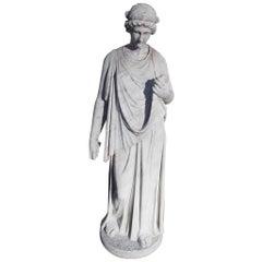 Italian Marble Figural Statue. Circa 1820