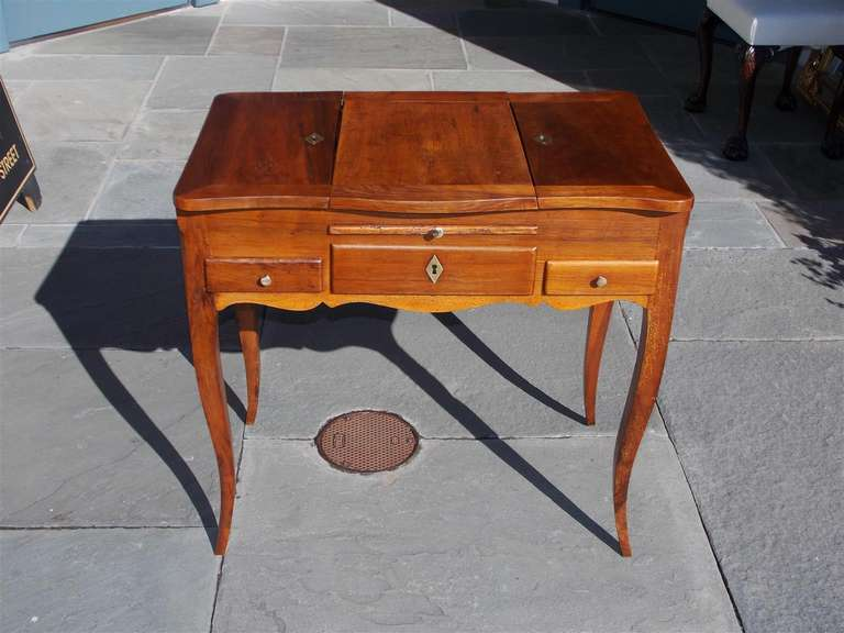 French pear wood ladies dressing table circa 1820 for for Womens dressing table