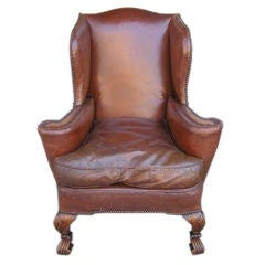 English Leather Wingback