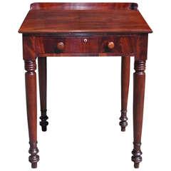 American Sheraton Mahogany Plantation Desk. Circa 1820