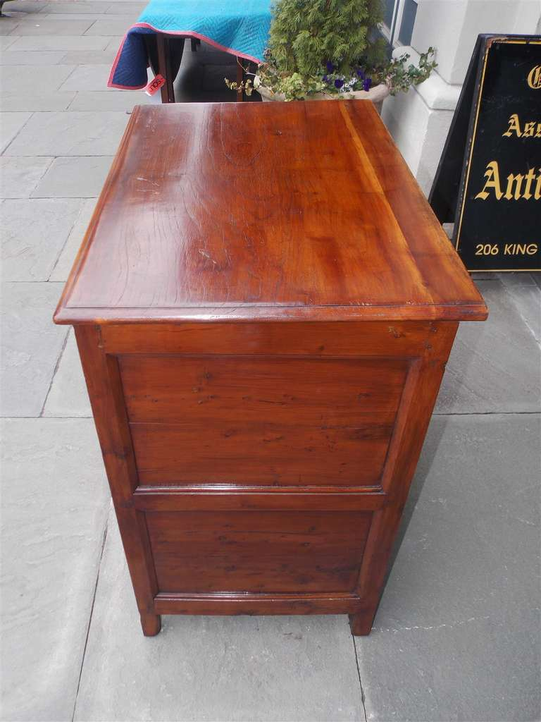 English Diminutive Red Cedar Chest of Drawers, Circa 1700 For Sale 2