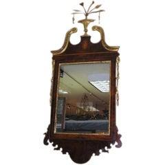 American Federal Hepplewhite Mirror