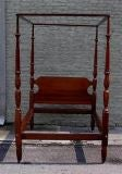 Philadelphia Mahogany Four Poster Bed thumbnail 2