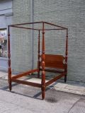 Philadelphia Mahogany Four Poster Bed thumbnail 7