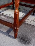 Philadelphia Mahogany Four Poster Bed thumbnail 9