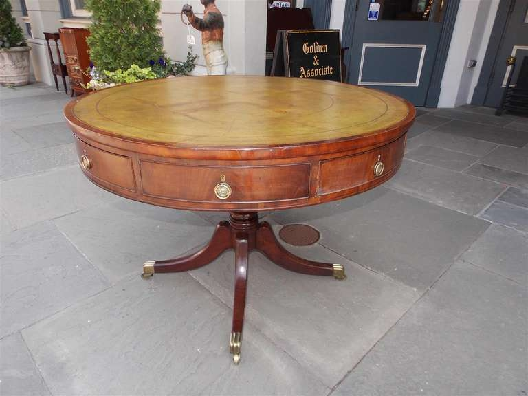 English Regency Mahogany Rent Table.  Circa 1790 4