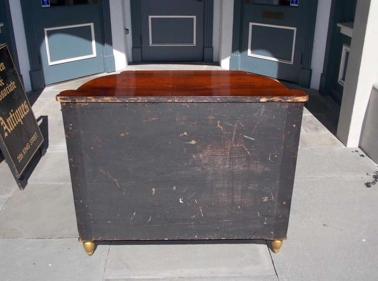 Italian Rosewood and Gilt Console For Sale 6