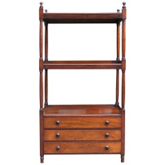 English Regency Mahogany Etegere