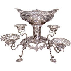 English Sterling Epergne