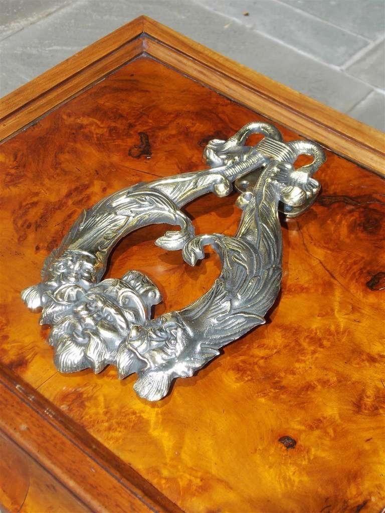 English regency dolphin door knocker circa 1820 for sale at 1stdibs - Dolphin door knocker ...