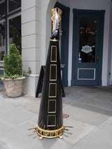 English Gilt and Black Lacquered Harp signed Sabastian Erards. Circa 1805 image 10