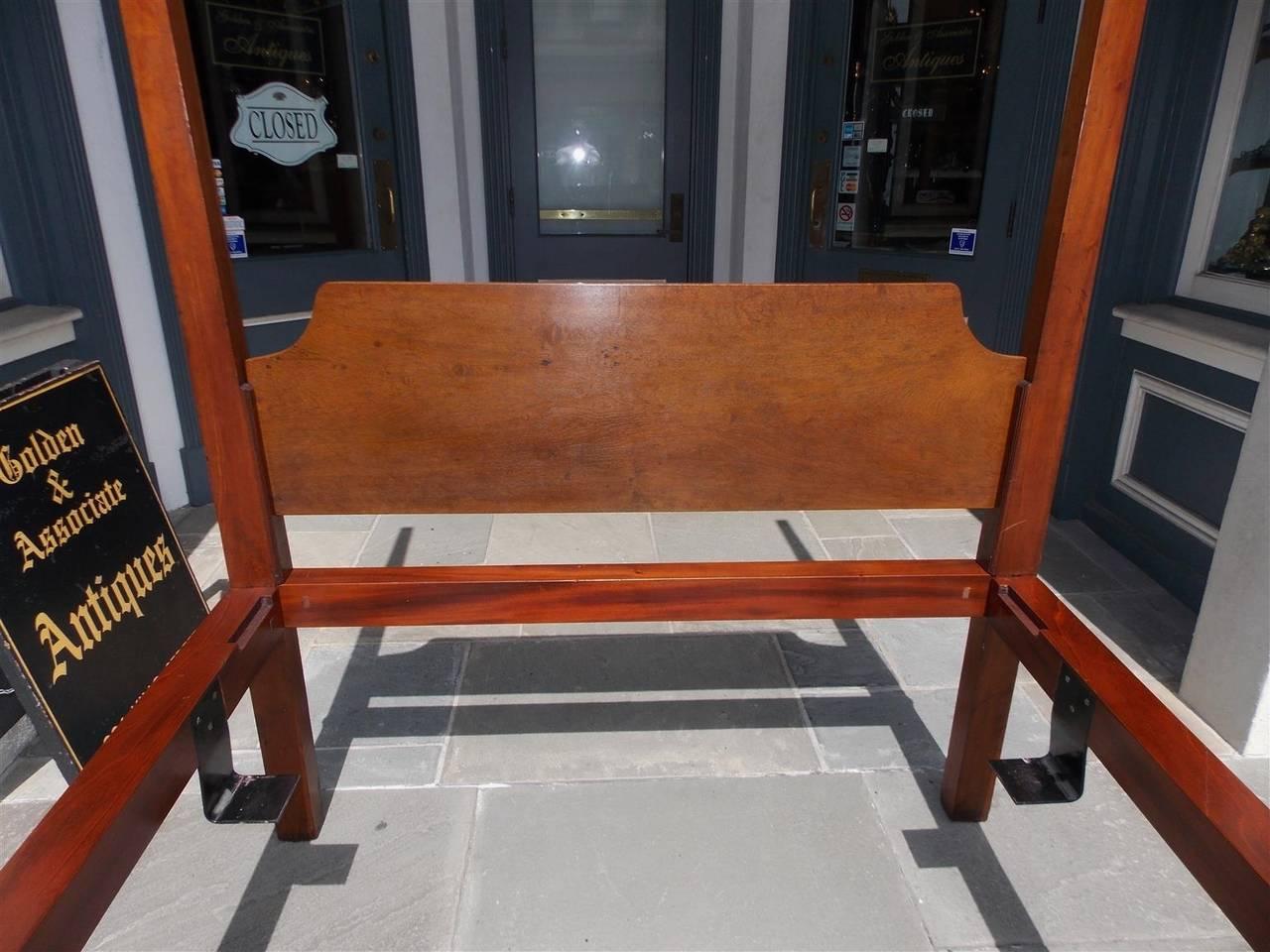 Charleston Mahogany Rice Bed The Furniture Of Charleston Circa - Good wood furniture charleston sc