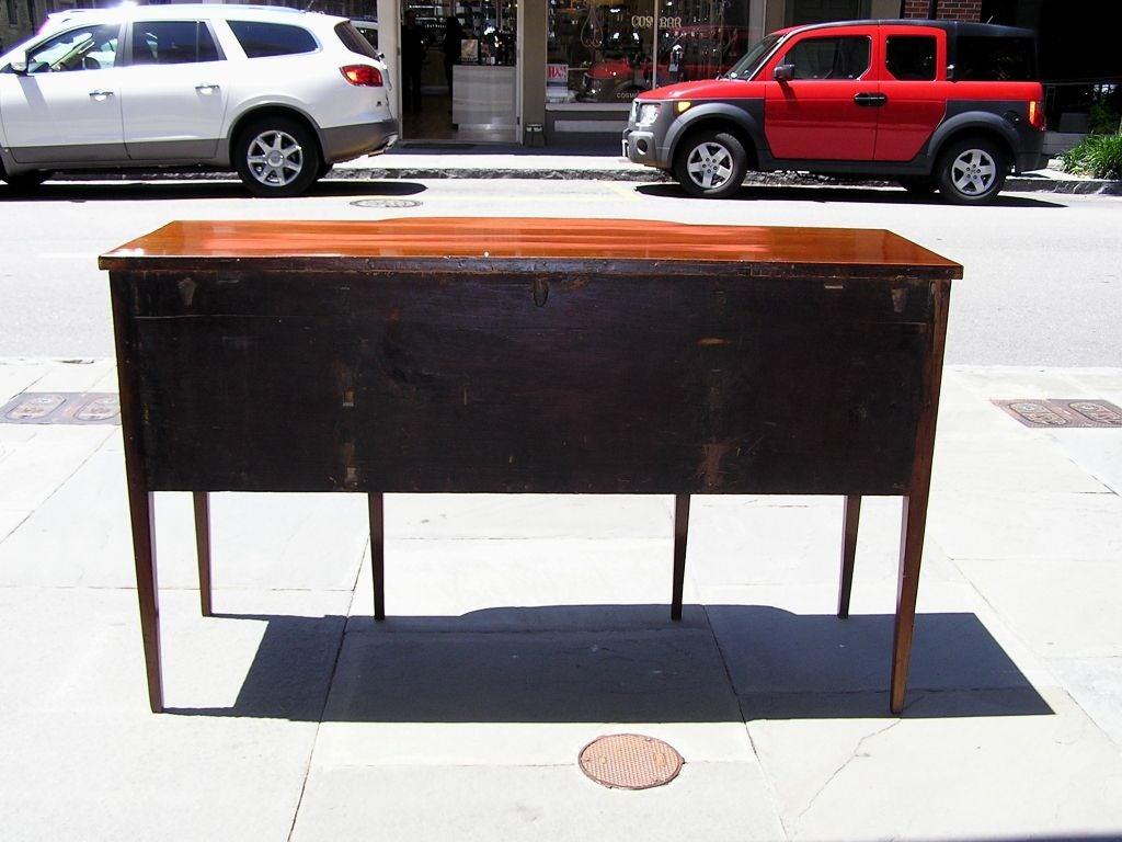 Charleston Classical Hepplewhite Mahogany & Satinwood Inlaid Sideboard. C. 1790 For Sale 3