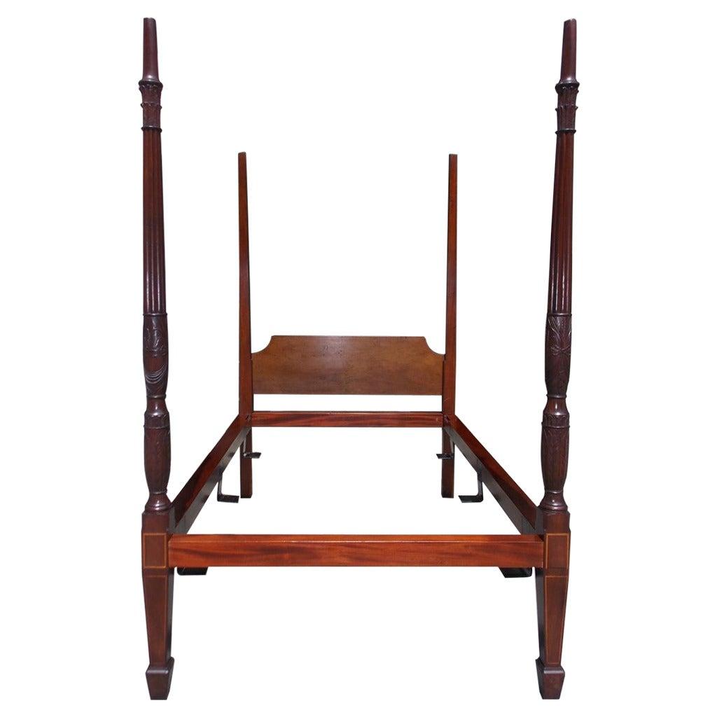 Charleston Mahogany Rice Bed The Furniture Of Charleston Circa