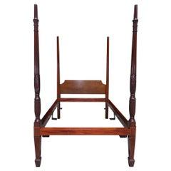 "Charleston Mahogany Rice Bed, ""The Furniture of Charleston,"" Circa 1800-1815"