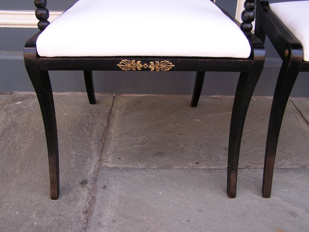 Set of Eight English Regency Chairs For Sale 2