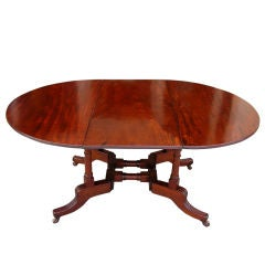 American Regency Mahogany Sutherland Table