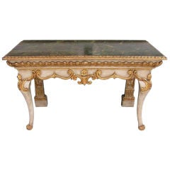 Italian Gilded and Painted Console