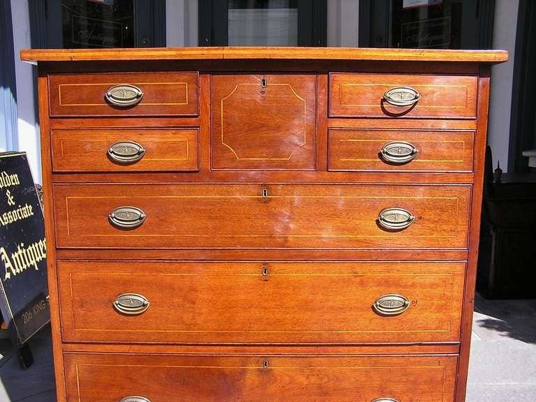 American Walnut Chest of Drawers For Sale 1
