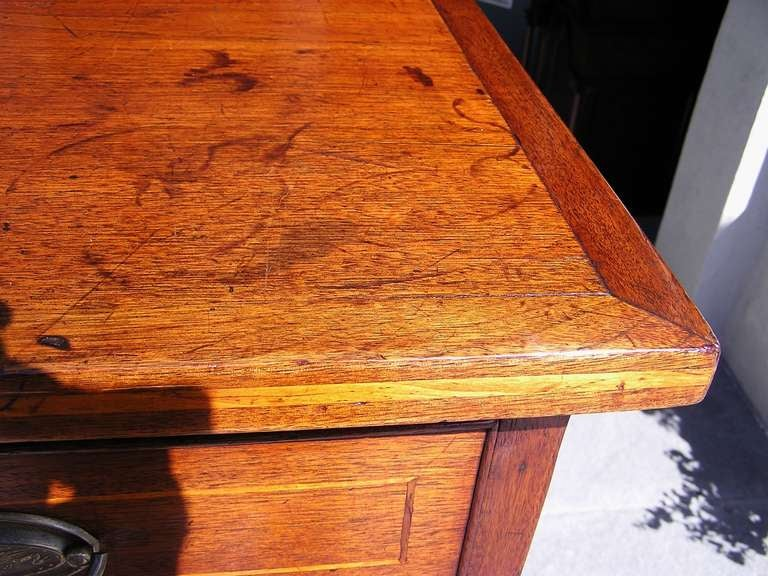 American Walnut Chest of Drawers For Sale 4