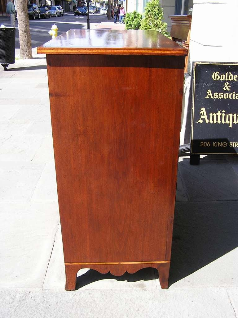 American Walnut Chest of Drawers For Sale 5