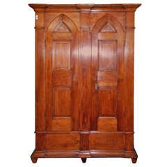 American White Pine Armoire