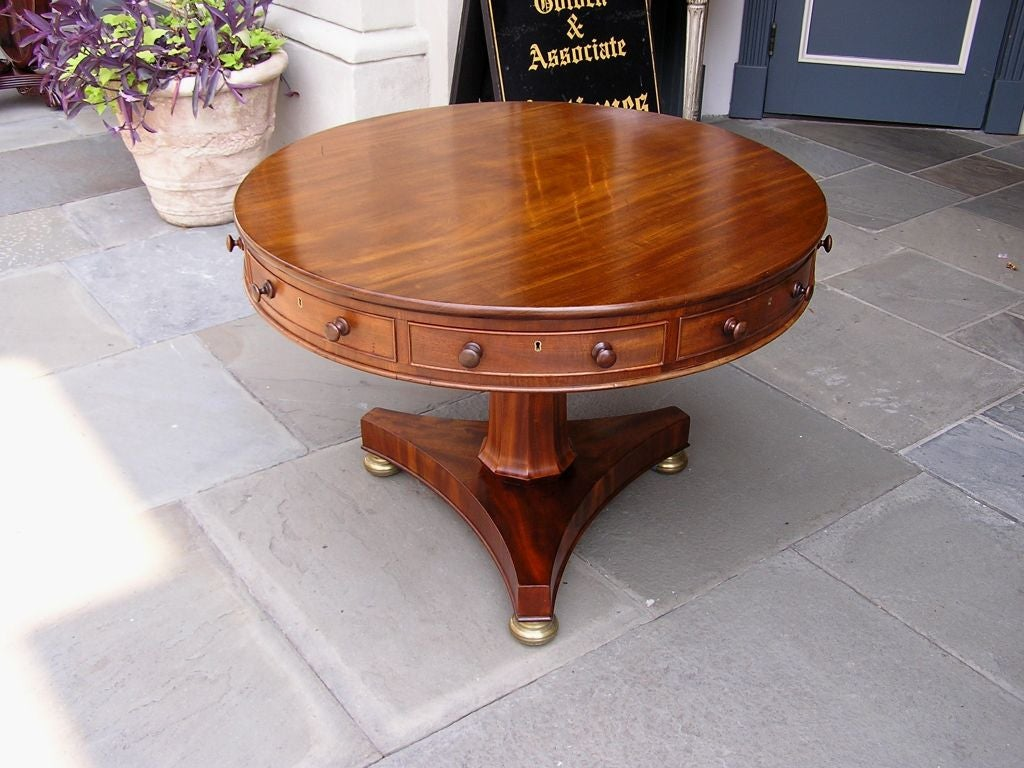 English Mahogany Rent Table 3