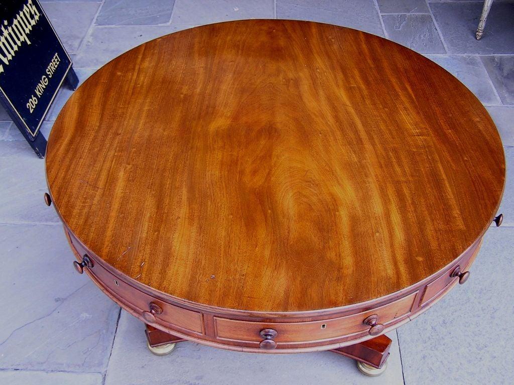 English Mahogany Rent Table 5
