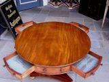 English Mahogany Rent Table image 7