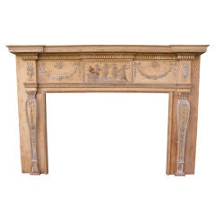 Neoclassical Wellford Mantel