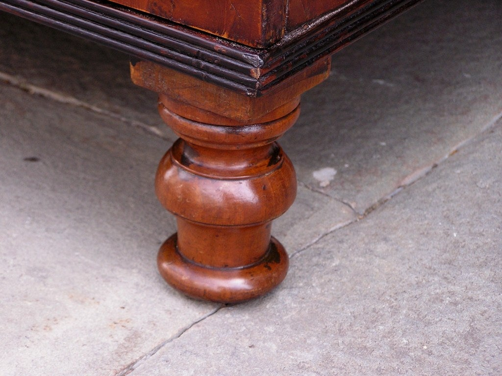 English Yew Wood Chest of Drawers For Sale 3