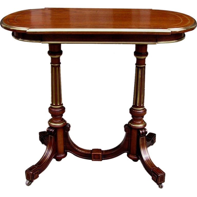 English Regency Mahogany Serving Table