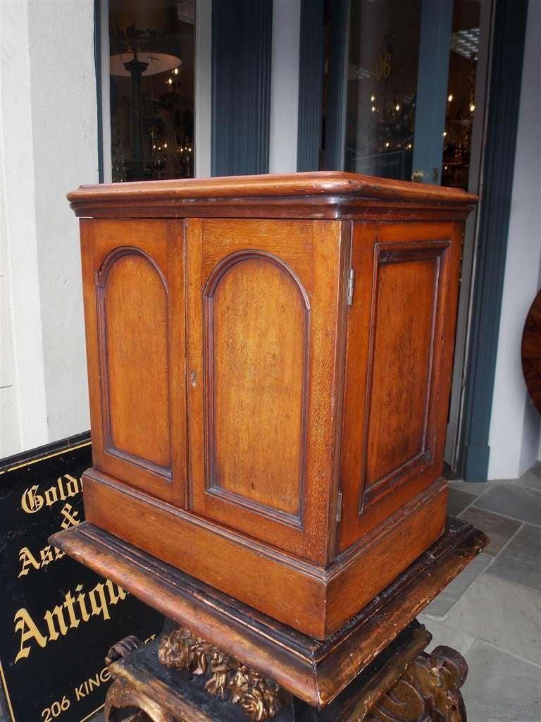 19th Century English Mahogany Campaign Medical Box. Circa 1830 For Sale
