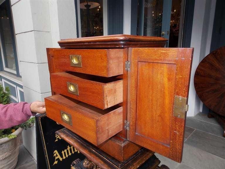 English Mahogany Campaign Medical Box. Circa 1830 For Sale 2