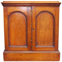 English Mahogany Campaign Medical Box. Circa 1830