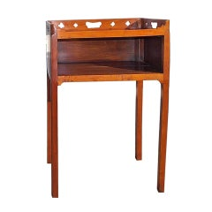 English Chippendale Mahogany Side Table.  Circa 1790