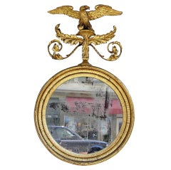Irish Gilt Eagle Mirror