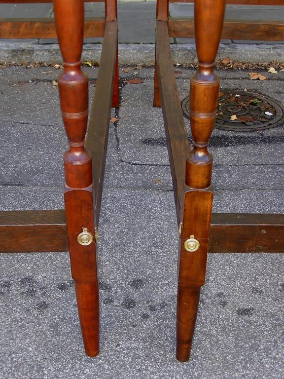 Pair of American Twin Tester Beds For Sale 5