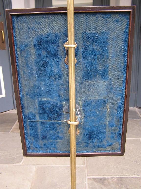 English Regency Pole Screen For Sale 2