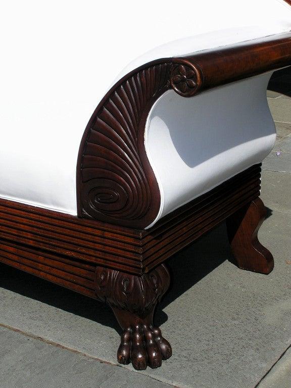 19th Century Jamaican Cuban Mahogany Sofa For Sale