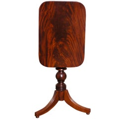 American Mahogany Candle Stand  (Baltimore)