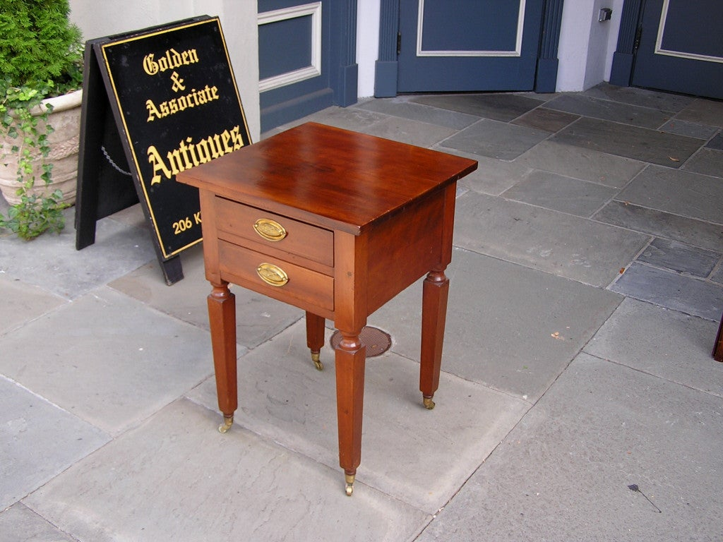 19th Century American Cherry Stand   New York For Sale