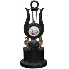 French Regency Gilt Bronze Watch Holder