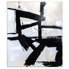 """""""Valor"""" Original Painting by Argentine artist Karina Gentinetta"""