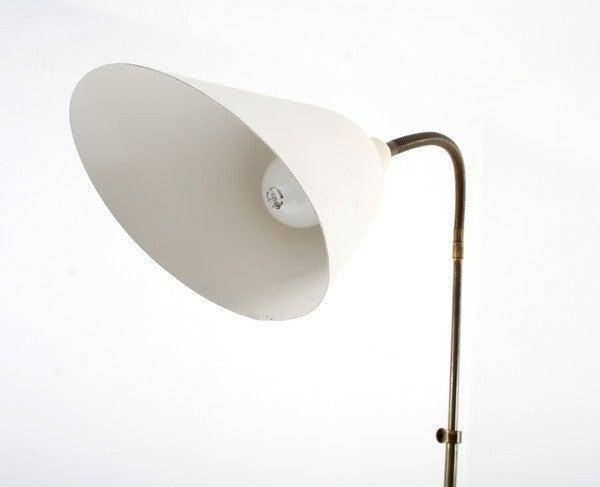 Danish Rare Floor Lamp by Arne Jacobsen for Louis Poulsen, Early Work For Sale